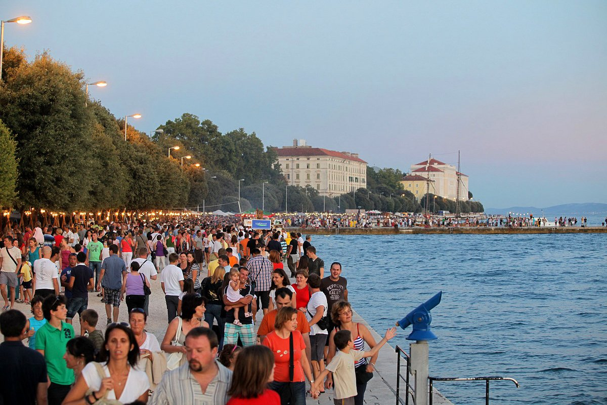 Promenade | Riva | Most beautiful sunset in the world | Zadar Walking Tour | Zadar City Tour | Expert Guides | Visit Croatia | Best Walking Tour in Zadar | Zadar Walking Tour
